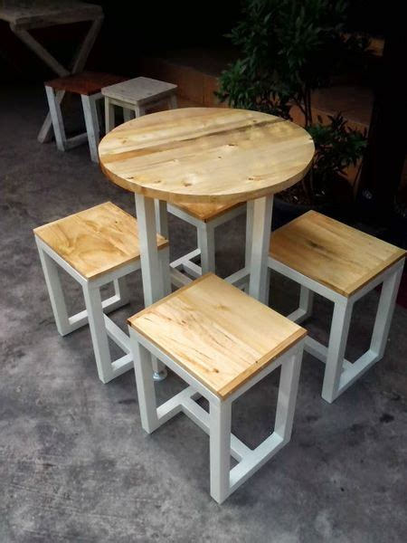 Meja Kotak Besi Cafe gambar kursi cafe besi atraktif best 25 meja cafe ideas on