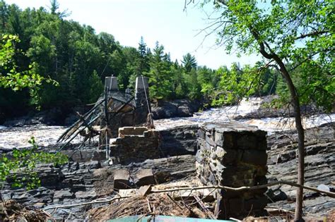 jay cooke state park swinging bridge jay cooke state park s iconic swinging bridge almost ready