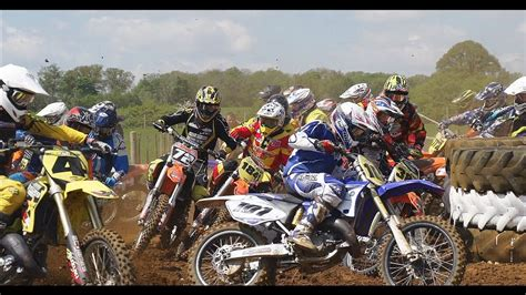 youtube motocross racing action epic 125 motocross race action youtube