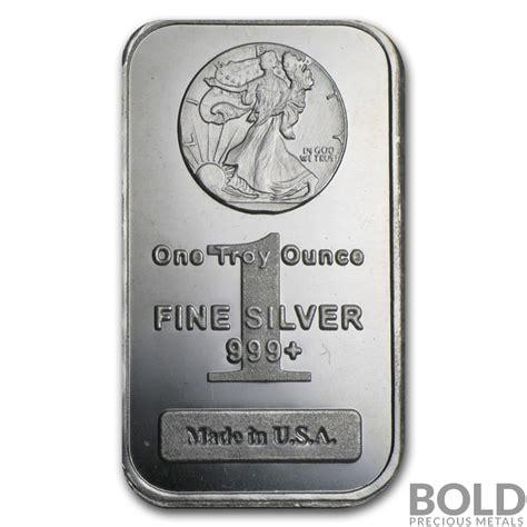 1 oz silver bar display silver 1 oz walking liberty bar ebay