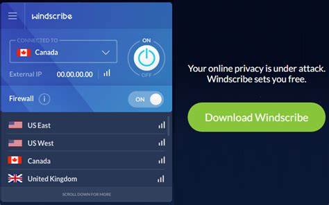 best free vpn windscribe best free vpn offering 50gb free data to all