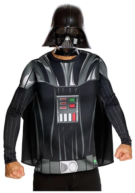 darth vader costume darth vader mens top and mask wars costumes costumes