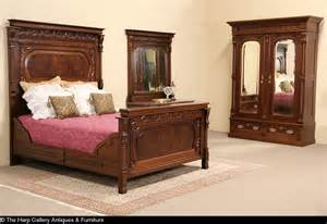 eastlake bedroom furniture sold victorian eastlake queen size bedroom set armoire