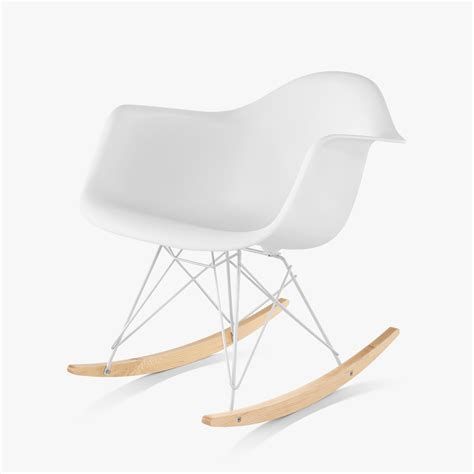 eames molded armchair eames molded plastic armchair rocker base by charles ray eames for herman miller up interiors