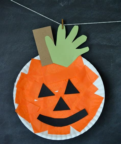 Paper Pumpkin Crafts For - o lantern ideas real simple