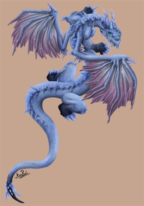 ice dragon tattoo by bloodydragon117 on deviantart
