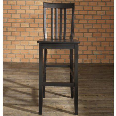 crosley furniture school house bar stool   seat