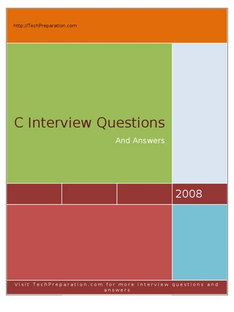 interview pattern programs in c c interview questions techpreparation subroutine