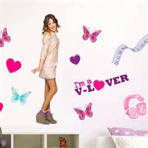 Disney violetta love giant stickers great kidsbedrooms