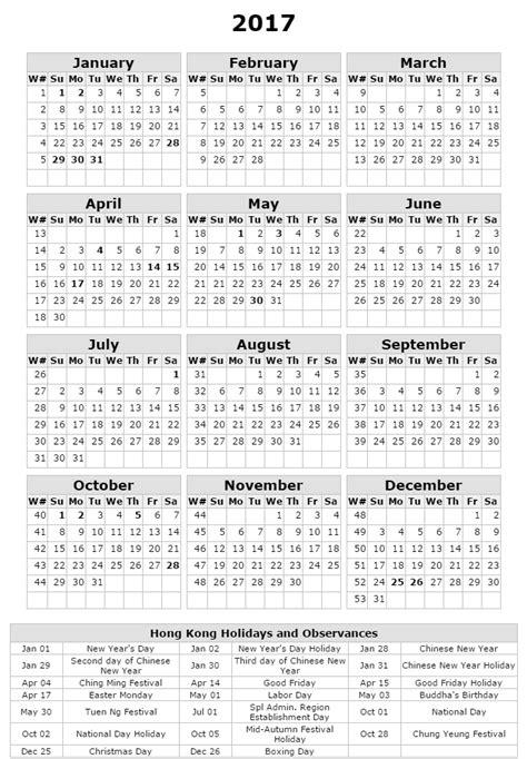 printable calendar 2017 hong kong free printable calendar 2017 hong kong holidays calendar 2017