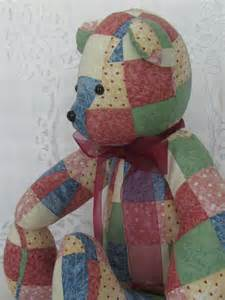 How To Make A Patchwork Teddy - patchwork memory bears a patch of