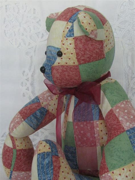 Free Patchwork Teddy Pattern - teddy patterns simplicity