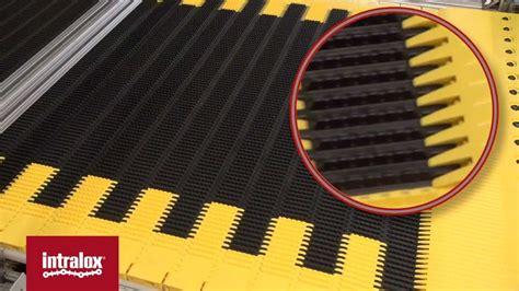 intralox series 4500 conveyor belt youtube