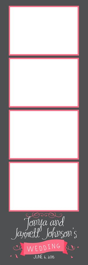 design photo strip designs lets booth it