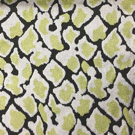 upholstery fabric and supplies hendrix leopard pattern cut velvet upholstery fabric by