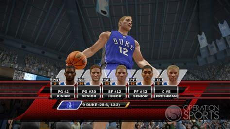 ncaa basketball 10 ps3 roster ncaa basketball 10 screenshot 15 for xbox 360 operation