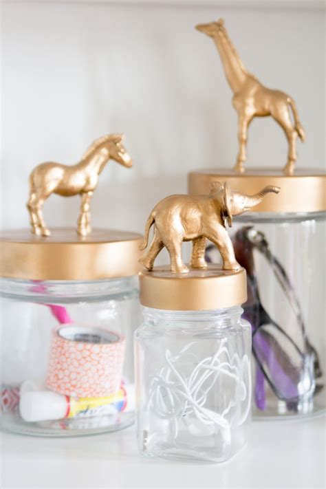 cute diy animal jars perfect to organize a children s boost your efficiency at work with these diy desk organizers