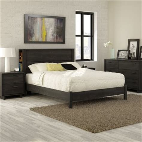 full storage headboard fynn full storage headboard platform bed gray oak