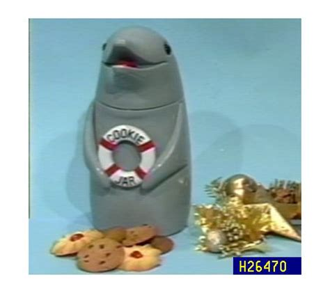 dolphin cookie jar with sound qvc com