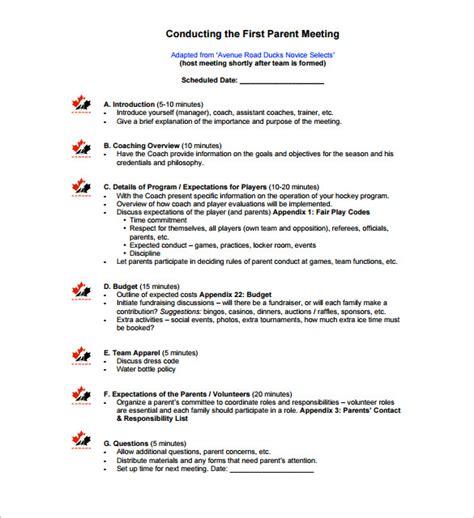 seminar agenda sample outline format staff meeting 5 example doc