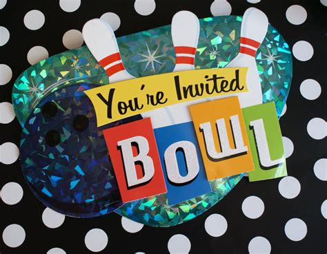 a little loveliness bowling party ideas