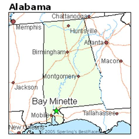 best places to live in bay minette, alabama