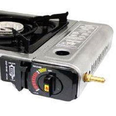 Kompor Gas Isi 1 jual kompor gas portable kenmaster gas kaleng dan gas 3 kg