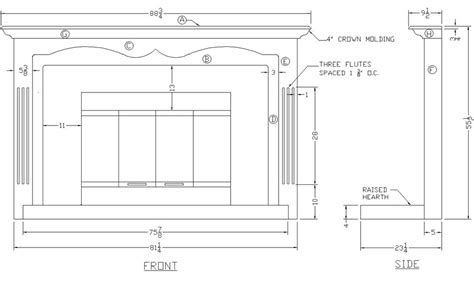 fireplace mantel plans how to build a fireplace mantel surround woodworking
