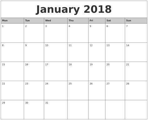 free october 2017 printable monthly calendar download free calendar