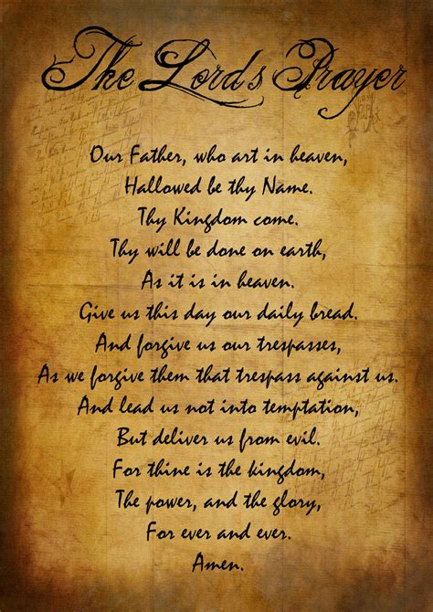 the lord s prayer by kleinm on deviantart