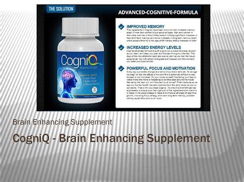 cogniq supplement cogniq brain enhancing supplement by supplement 2go issuu