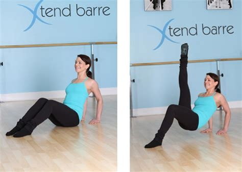 Floor Barre Exercises by Barre Workout Get Lean And Chiseled Page 4