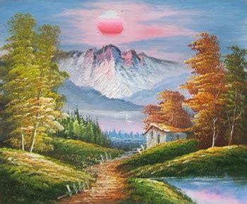 easy landscape oil paintings hot girls wallpaper