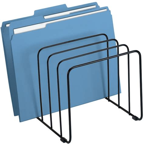 file rack for desk file folder desk organizer home design ideas