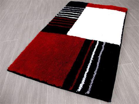 badteppich modern pacific badteppich jemo rot modern abverkauf badteppiche