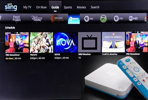 hands  dishs airtv combines sling local channels