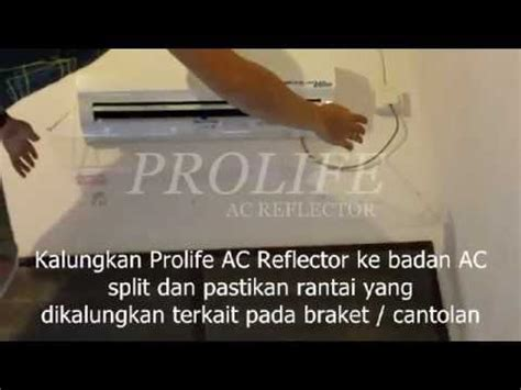 Ac Lg Balikpapan prolife ac reflector acrylic ac penahan angin ac