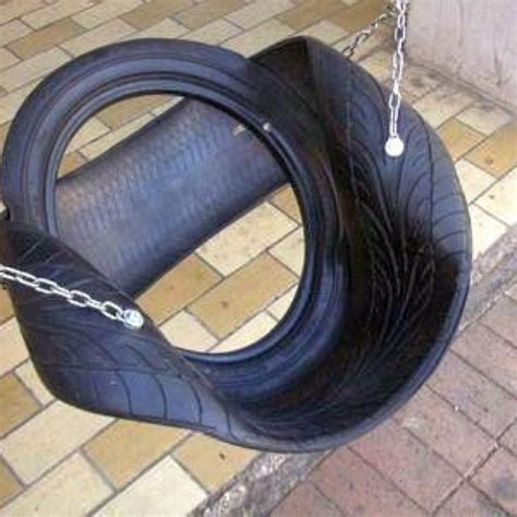tyre swing seat different type of tire swing tire swings pinterest