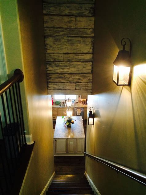 Above Stairs by Barnwood For The Wasted Space Above The Stairs Inspiration For Home Spaces