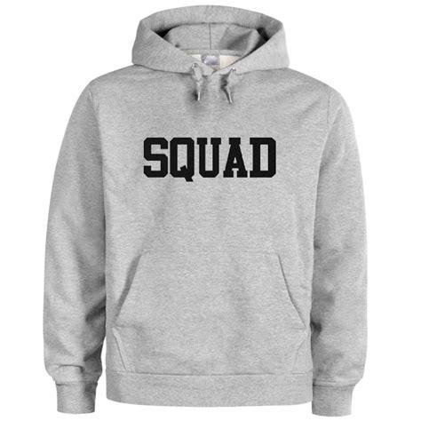 Hoddie Jumper Sasquad squad black hoodie