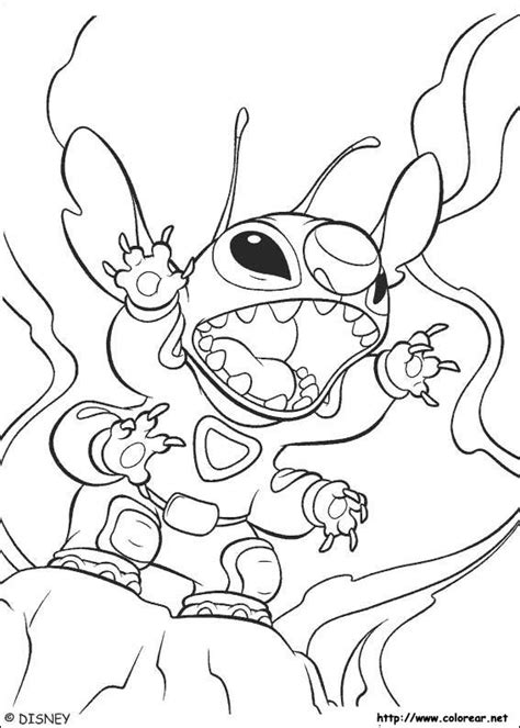 cute stitch coloring pages free cute stitch coloring pages