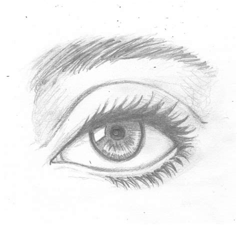 coloring pages of the eye realistic eye by illahstrait on deviantart