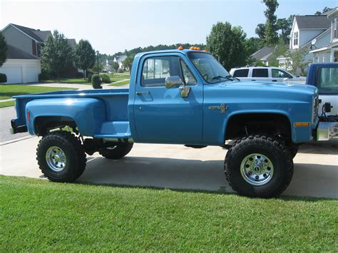 long bed lifted chevy 187 lifted chevy trucks 187 87 v 30 long bed step