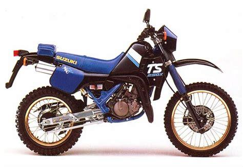 Ts Suzuki Suzuki Ts250x Model History
