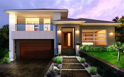 Level House Tristar 34 5 Split Level By Kurmond Homes New Home Builders Sydney Nsw Home Exteriors
