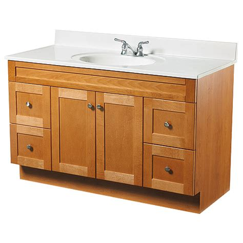 2 doors and 4 drawers vanity rona