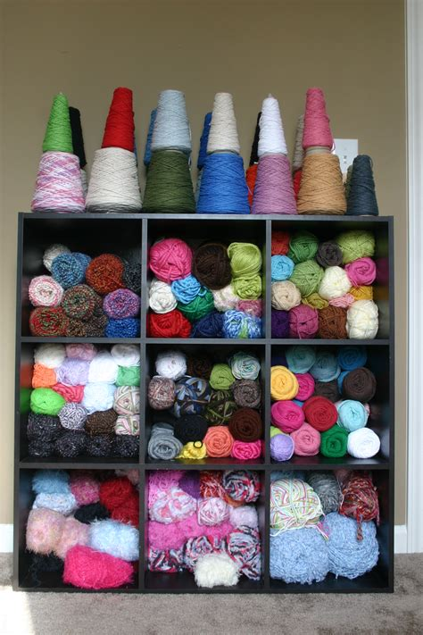 Yarn Shelf by Confessions Of A Yarn Junkie Yarn Storage Where The