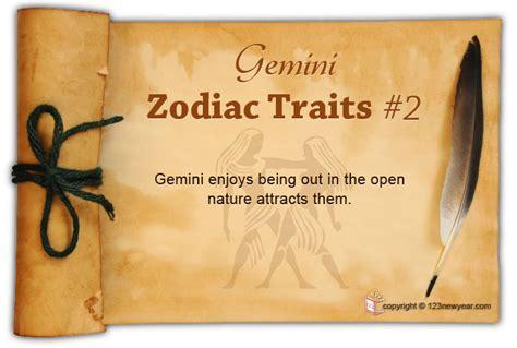 gemini zodiac sign characteristics personality traits