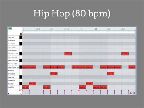 make drum pattern ableton how to make basic house and hip hop beats in ableton live 9