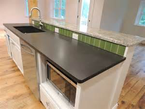 absolute black leathered granite countertops the